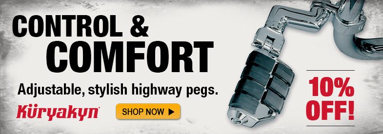 Shop Kuryakyn Dually Highway Pegs!