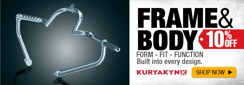 Shop Kuryakyn Frame and Body