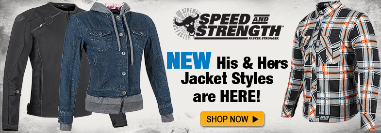 Shop New Speed And Strength Jackets!