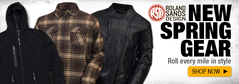 Shop New Roland Sands Design Spring 2016 Gear