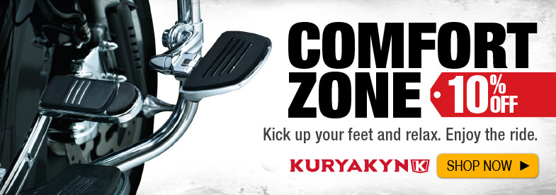 Shop Kuryakyn Foot Controls and Pegs