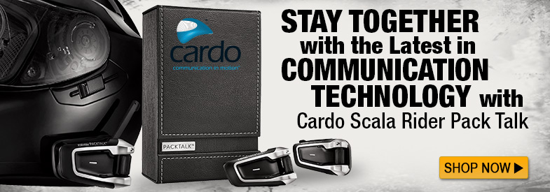 Shop Cardo Scala Rider Pack Talk!