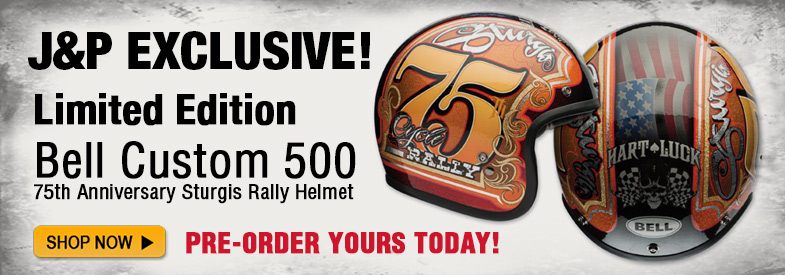 J&P Exclusive Sturgis Helmet!