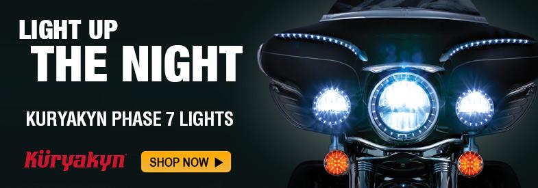 Kuryakyn Phase 7 Lights!