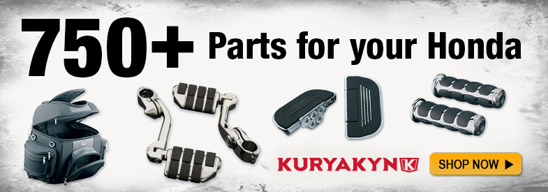 Shop all Kuryakyn parts for Honda