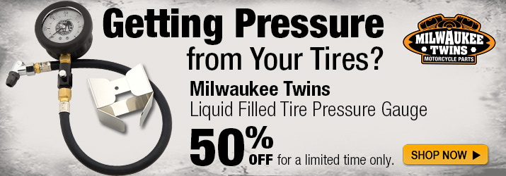 50% Off MT Tire Pressure Gauge!