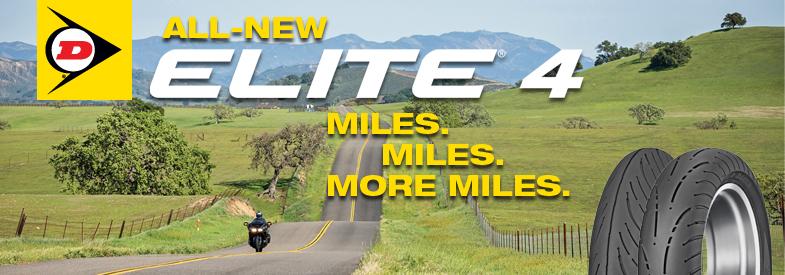 Shop Dunlop Elite 4 Tires for Indian