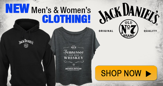 Shop New Jack Daniels Clothing