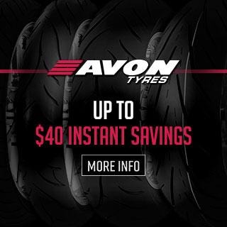 Up To $40 Instant Savings on Avon Spirit Tyres