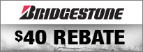 $40 Rebate When You Purchase a Set of Two Exedra Max Tires