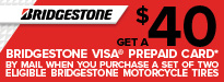 Bridgestone Buy Two Get $40
