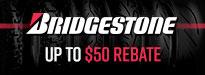 Bridgestone Battlecruise H50 Tire Rebates