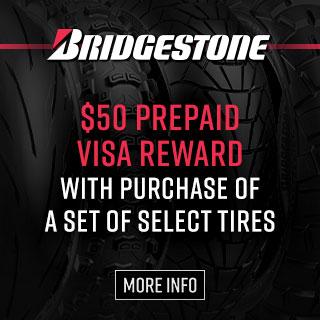 Bridgestone Tires Prepaid Visa Reward