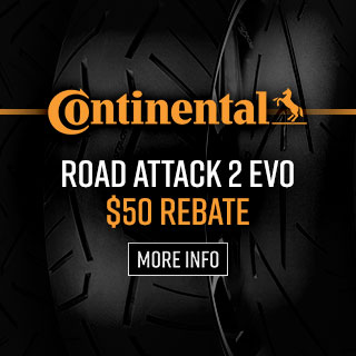 Continental Road Attack EVO 2 Tire Rebate
