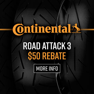 Continental Road Attack 3 Tire Rebate