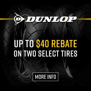 Dunlop Visa Prepaid Tire Rebate