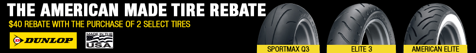 Get a $40 Rebate When You Purchase a Set of Two Select Dunlop Tires