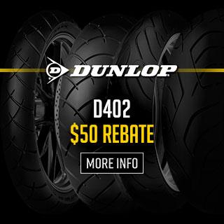 Dunlop D402 Tire Rebates