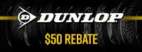 Dunlop Elite 4 Tire Rebates