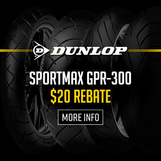 Dunlop GPR-300 SPORTMAX Tire Rebates