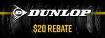 Dunlop GPR-300 SPORTMAX Tire Rebates