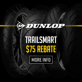 Dunlop TrailSmart Tire Rebates