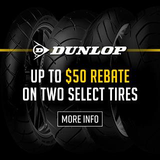 Dunlop September-October $50 Rebate
