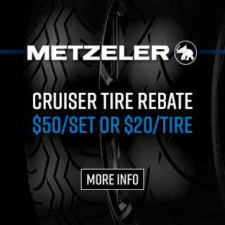 Metzeler Cruising Touring Tire Rebate