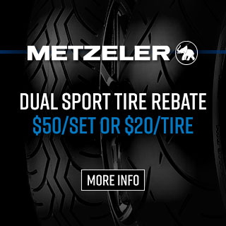 Metzeler Dual Sport Tire Rebates