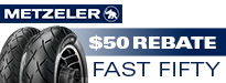 Metzeler Fast Fifty Rebate