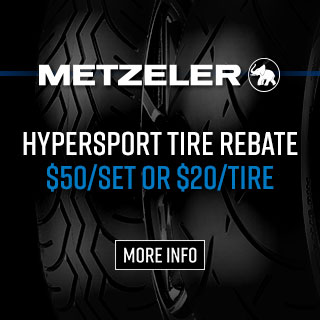 Metzeler Hypersport Tire Rebate