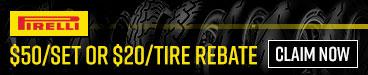 Pirelli Tire Rebates