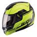 GMAX MD04 Hi-Viz Yellow Modular Helmet