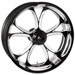 Performance Machine Luxe Platinum Cut Front Wheel 18x3.5 Dual disc