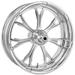 Performance Machine Paramount Chrome Front Wheel 18x3.5 Dual disc