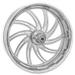 Performance Machine Supra Chrome Front Wheel, 23