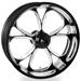 Performance Machine Luxe Platinum Cut Front Wheel, 19