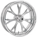 Performance Machine Paramount Chrome Front Wheel, 19