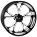 Performance Machine Luxe Platinum Cut Rear Wheel, 18