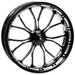 Performance Machine Heathen Platinum Cut Rear Wheel 17x17.6 Non-ABS