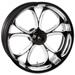 Performance Machine Luxe Platinum Cut Rear Wheel 17x6 Non-ABS