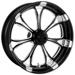 Performance Machine Paramount Platinum Cut Rear Wheel 17x6 Non-ABS