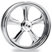 Performance Machine Wrath Chrome Rear Wheel, 17
