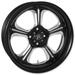 Performance Machine Wrath Platinum Cut Rear Wheel 17x6 Non-ABS