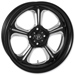 Performance Machine Wrath Platinum Contrast Cut Rear Wheel, 18