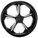 Performance Machine Wrath Platinum Cut Rear Wheel, 17
