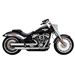 Vance & Hines Eliminator 300 Slip-on Mufflers Satin Chrome