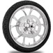 Performance Machine Luxe Chrome Front Wheel Package, 21″ x 3.5 without ABS