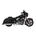 Vance & Hines Destroyer OverSized 450 Slip Ons Chrome with Black End Caps