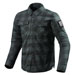 REV'IT! Men's Bison Black/Gray Overshirt